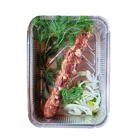 Люля-кебаб з телятини з сулугуні