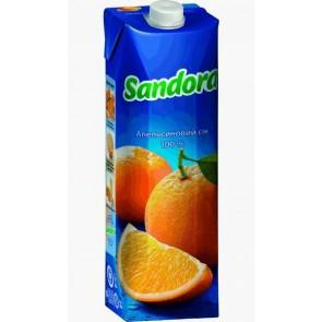 Сік Sandora 1л Апельсиновий
