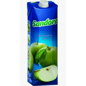 Сік Sandora 1л Яблучний