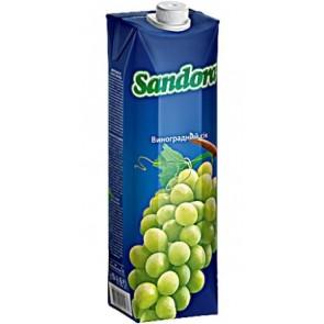 Сік Sandora 1л Світлий виноград